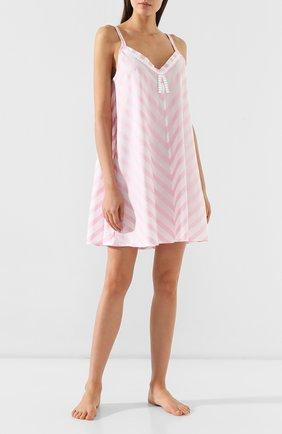 Женская хлопковая сорочка CELESTINE розового цвета, арт. 30002496/DALIAH T0P | Фото 2