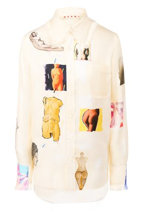 Шелковая рубашка | Фото №1