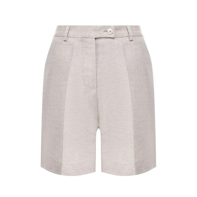 Льняные шорты Kiton