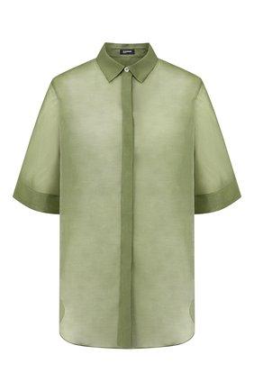 Рубашка из смеси хлопка и шелка | Фото №1