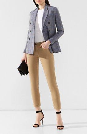 Женские джинсы MOUSSY бежевого цвета, арт. 025CSC11-2420 | Фото 2