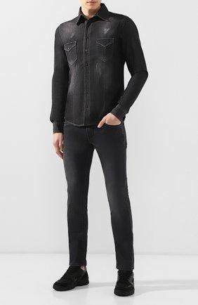 Джинсы Karl Lagerfeld denim черные   Фото №2