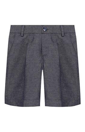 Детский комплект из рубашки и шорт BABY A. синего цвета, арт. B1771/BR/3M-24M | Фото 2
