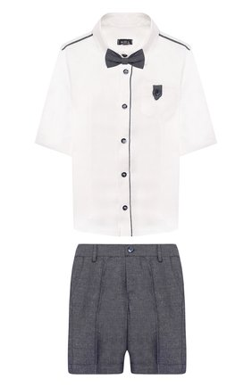Комплект из рубашки и шорт | Фото №1