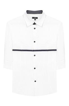 Детский комплект из рубашки и брюк Clix серого цвета | Фото №2
