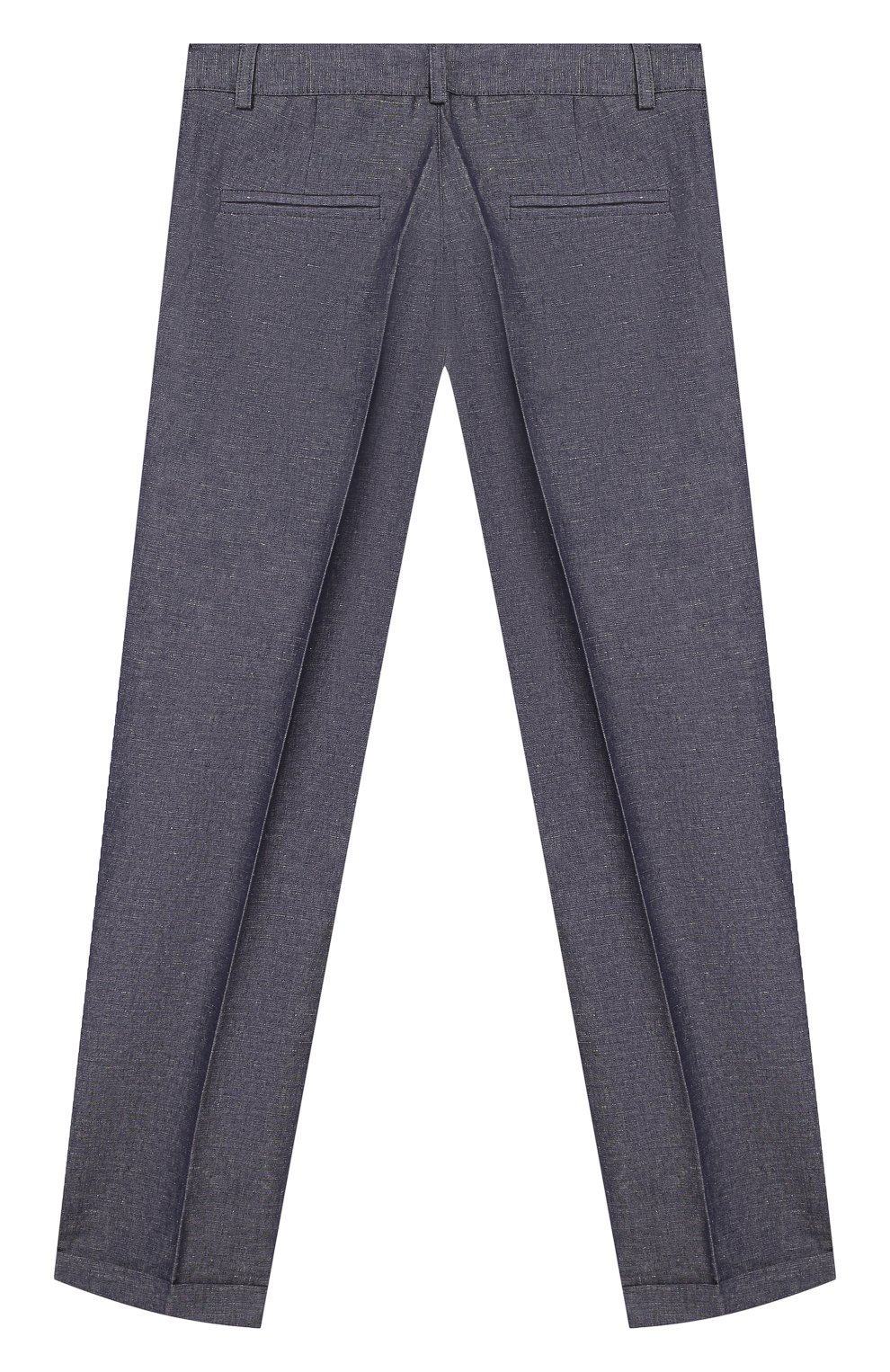 Детский комплект из рубашки и брюк Clix серого цвета | Фото №5