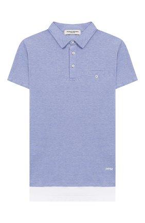 Рубашка-поло с короткими рукав | Фото №1