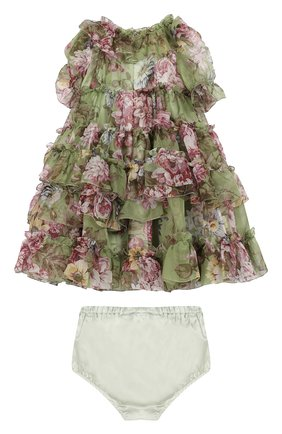 Комплект из платья и шелковых шорт   Фото №2