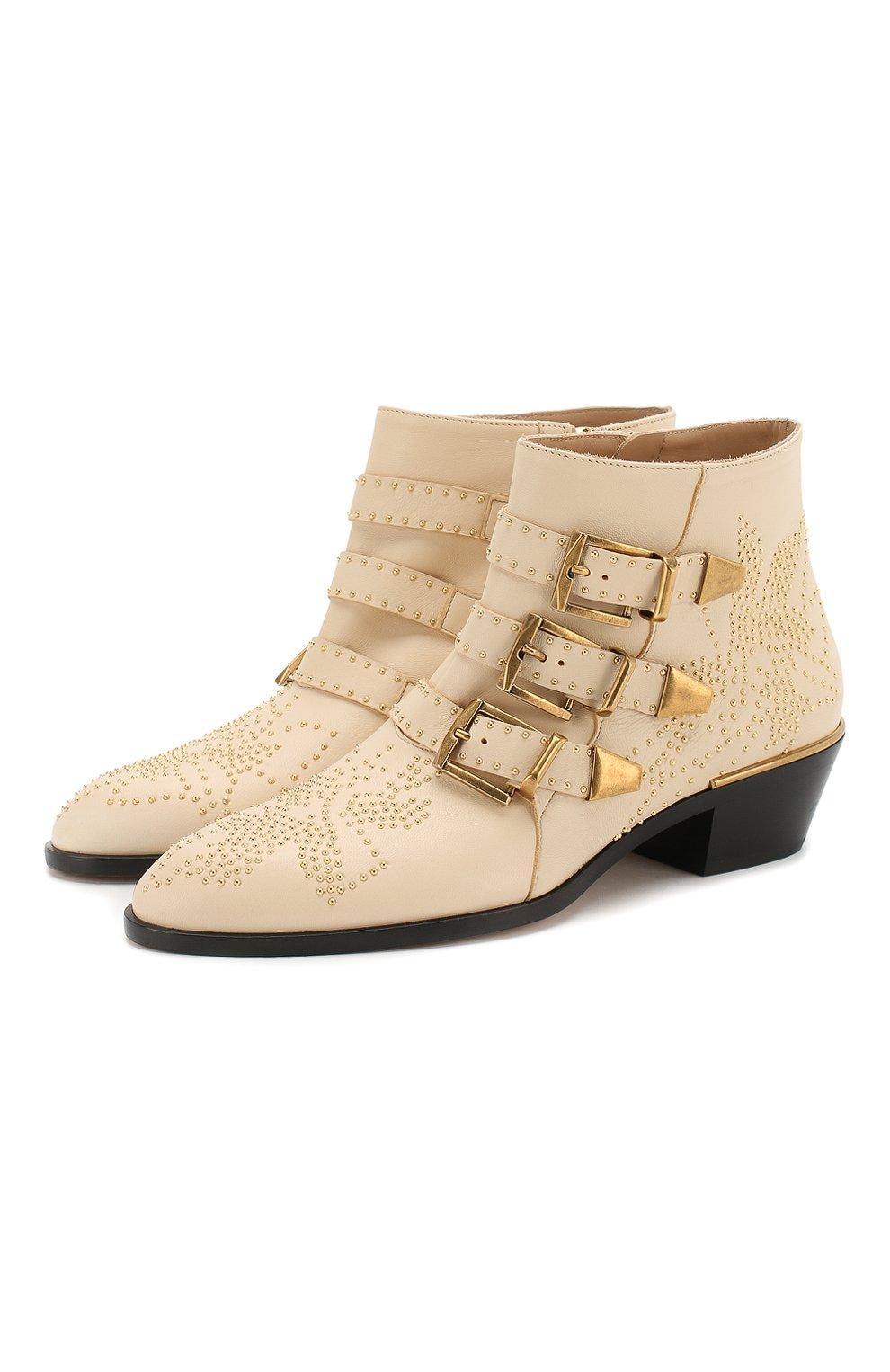 Кожаные ботинки Susanna   Фото №1