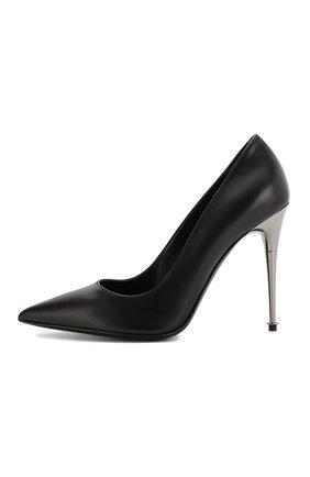 Кожаные туфли Tom Ford черные | Фото №3