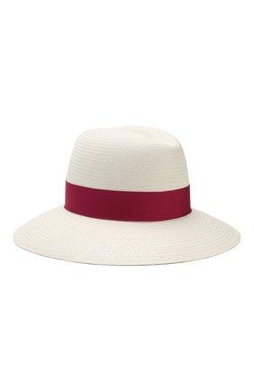 Соломенная шляпа с лентой Borsalino разноцветного цвета | Фото №2