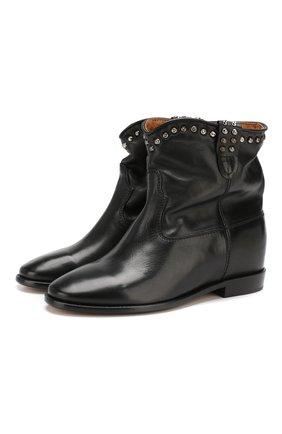 Кожаные ботинки Cluster | Фото №1