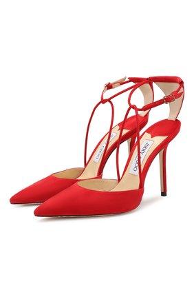 Замшевые туфли Leta 100 | Фото №1
