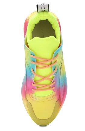 Текстильные кроссовки Eclypse Stella McCartney разноцветные   Фото №5