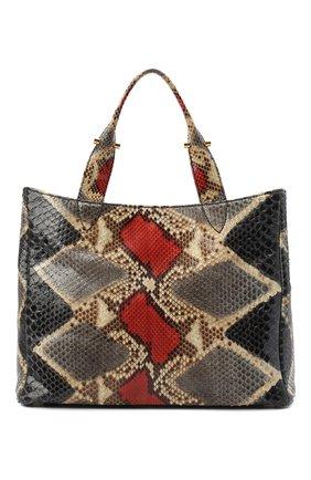 Женская сумка из кожи питона RUBEUS MILANO разноцветного цвета, арт. 018/16D040 | Фото 1