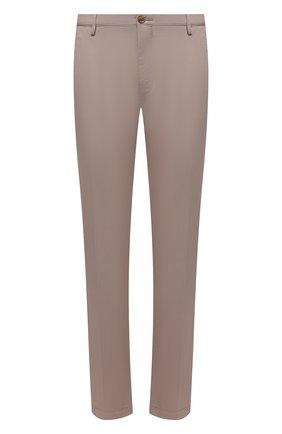 Мужские хлопковые брюки HUGO бежевого цвета, арт. 50325936 | Фото 1