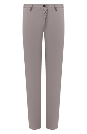Мужской хлопковые брюки BOSS светло-серого цвета, арт. 50325936   Фото 1