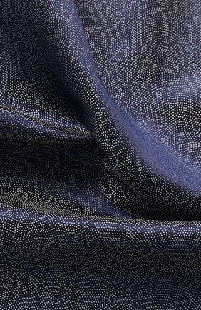 Мужской шелковый платок GIORGIO ARMANI синего цвета, арт. 360023/9P937 | Фото 2