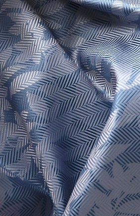 Мужской шелковый платок GIORGIO ARMANI голубого цвета, арт. 360023/9P936 | Фото 2