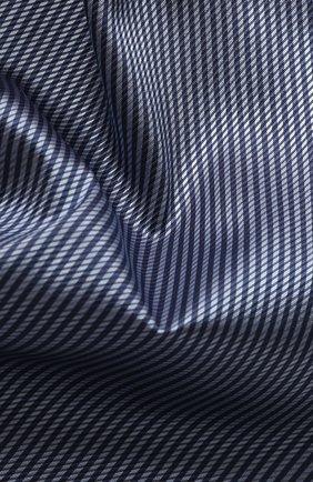 Мужской шелковый платок GIORGIO ARMANI сиреневого цвета, арт. 360023/9P912 | Фото 2