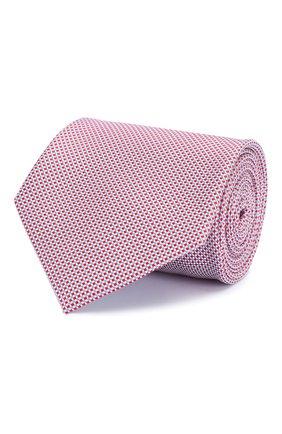 Мужской шелковый галстук BRIONI красного цвета, арт. 062H00/P8434 | Фото 1