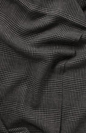 Шарф из смеси шерсти и льна | Фото №2