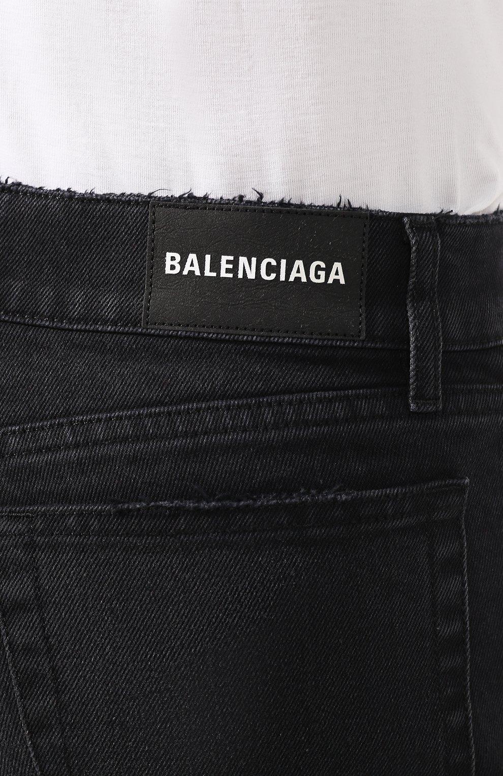 Джинсы Balenciaga темно-серые   Фото №5