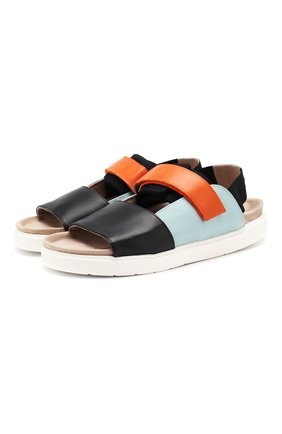 Комбинированные сандалии   Фото №1