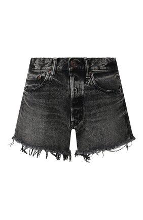 Женские джинсовые шорты MOUSSY черного цвета, арт. 025CSC11-2360 | Фото 1
