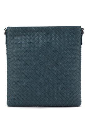 Кожаная сумка-планшет с плетением intrecciato | Фото №1