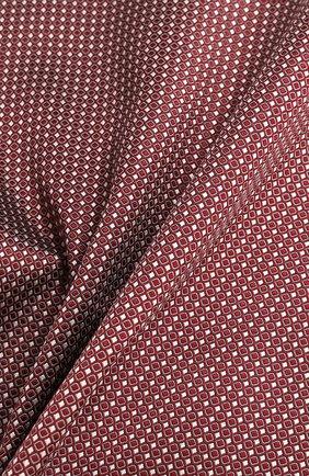 Мужской шелковый платок GIORGIO ARMANI красного цвета, арт. 360023/9P931 | Фото 2