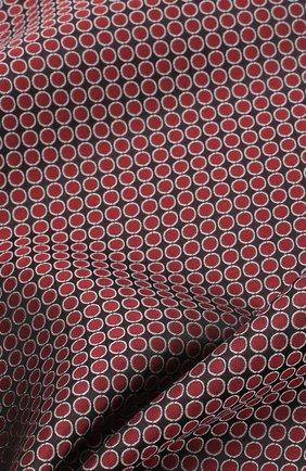 Мужской шелковый платок GIORGIO ARMANI красного цвета, арт. 360023/9P928 | Фото 2