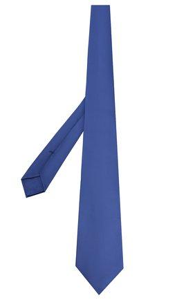 Мужской шелковый галстук KITON синего цвета, арт. UCRVKAC07201 | Фото 2