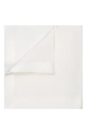 Мужской шелковый платок TOM FORD белого цвета, арт. TFZ92/TF312 | Фото 1