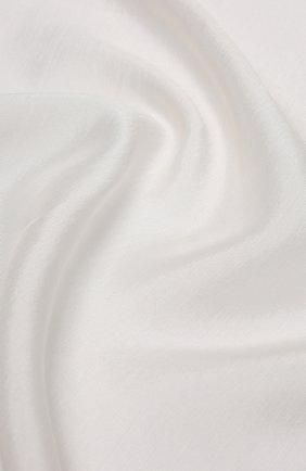 Мужской шелковый платок TOM FORD белого цвета, арт. TFZ92/TF312 | Фото 2