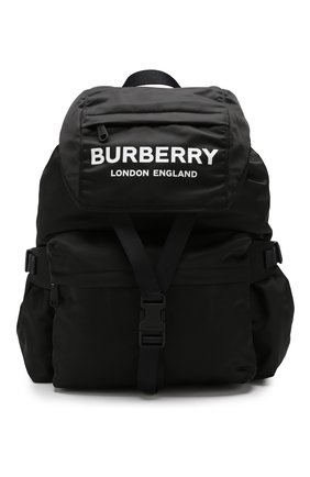 Женский рюкзак rucksack BURBERRY черного цвета, арт. 8010608 | Фото 1