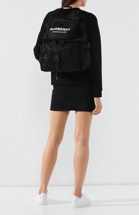 Женский рюкзак rucksack BURBERRY черного цвета, арт. 8010608 | Фото 2