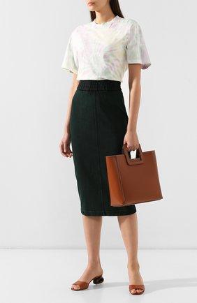 Женская сумка shirley  STAUD коричневого цвета, арт. 07-9042 | Фото 2