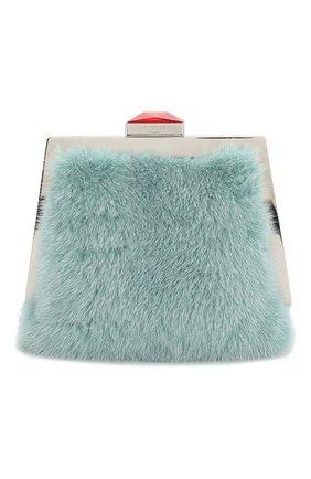Женская сумка mydas small RUBEUS MILANO голубого цвета, арт. 012/16D 012MSMMINT01 | Фото 1