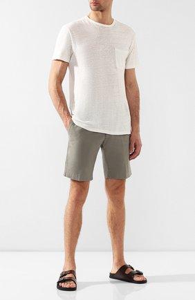 Мужские кожаные шлепанцы BERLUTI темно-коричневого цвета, арт. S4779-001 | Фото 2