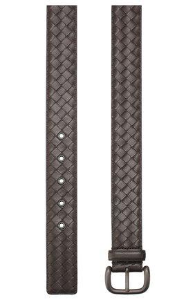 Мужской кожаный ремень BOTTEGA VENETA коричневого цвета, арт. 173784/V4650 | Фото 2