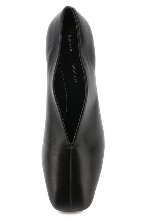 Кожаные туфли Proenza Schouler черные | Фото №5