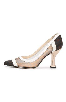 Комбинированные туфли | Фото №3