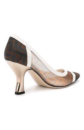 Комбинированные туфли | Фото №4