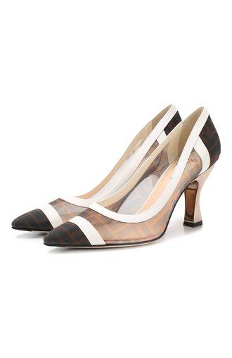 Комбинированные туфли