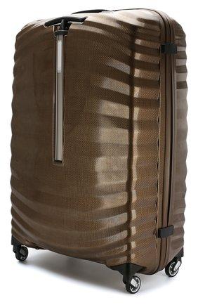 Женский дорожный чемодан lite-shock extra large SAMSONITE коричневого цвета, арт. 98V-05004 | Фото 2