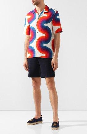 Мужские текстильные эспадрильи RALPH LAUREN темно-синего цвета, арт. 815744314 | Фото 2