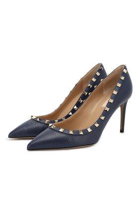 Кожаные туфли Valentino Garavani Rockstud   Фото №1