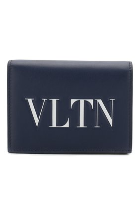 Кожаное портмоне Valentino Garavani VLTN | Фото №1