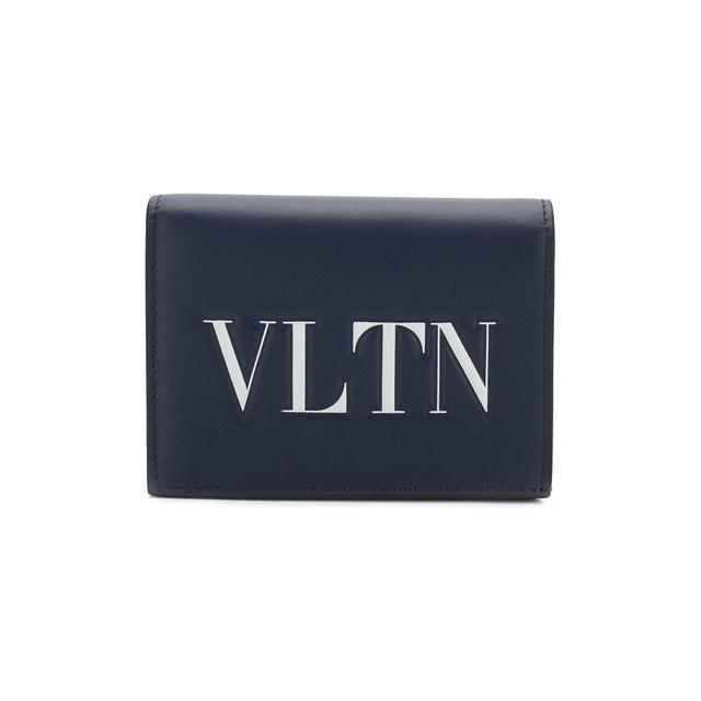 Кожаное портмоне Valentino Garavani VLTN Valentino